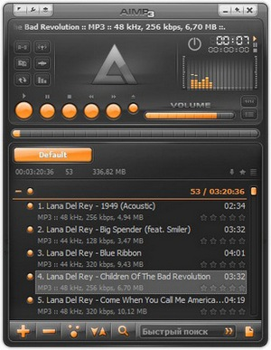 aimp mp3 unsupported format
