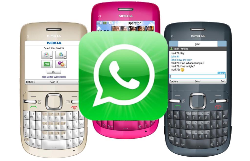 Скачать whatsapp для телефона nokia бесплатно.